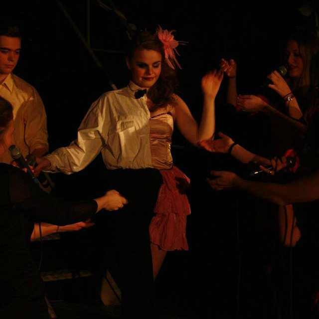 Teaterkoncert Kærligheden kalder. Foto: Kim Vilstrup